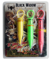 Black Widow Widow Maker Scent Sticks 3pk. - Ringtails and Tall Tales Hunting, Dog Supply, and Taxidermy