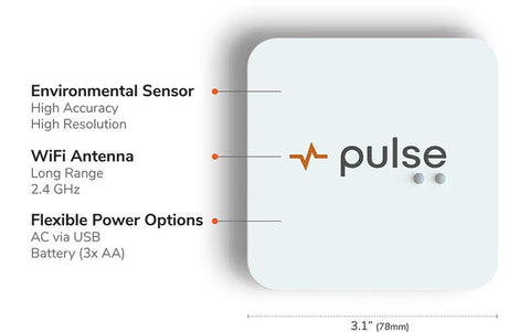 Pulse Wireless Grow Room Monitor