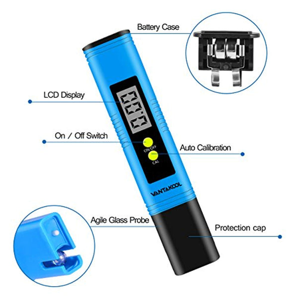 Digital PH Meter for Water Quality Testing @ The Growing Shop