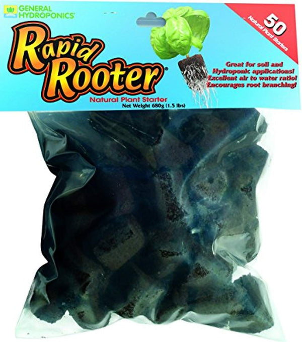 Rapid Rooter Grow Plugs (50 Count) by General Hydroponics @ The Growing Shop