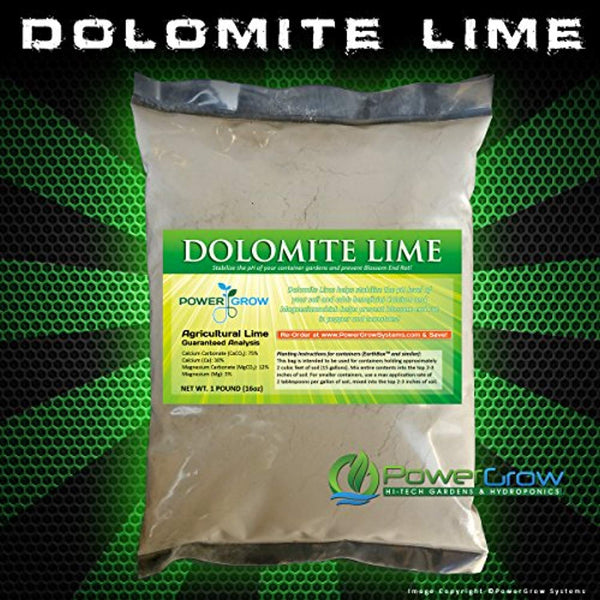 Dolomite Lime - Pure Dolomitic/Calcitic Garden Lime (5 Pounds) @ The Growing Shop