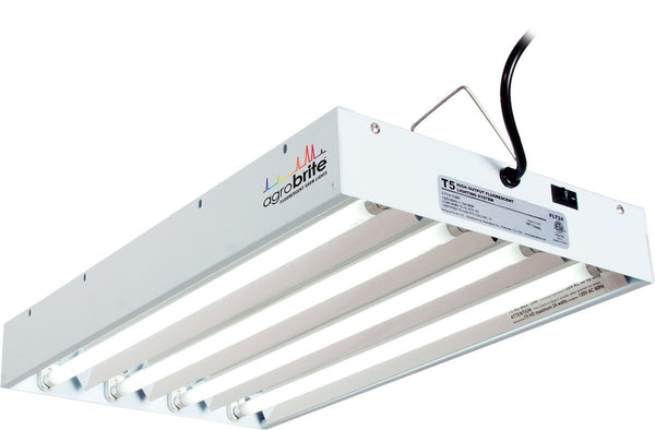 Hydrofarm Agrobrite FLT44 T5 Fluorescent Grow Light System @ The Growing Shop