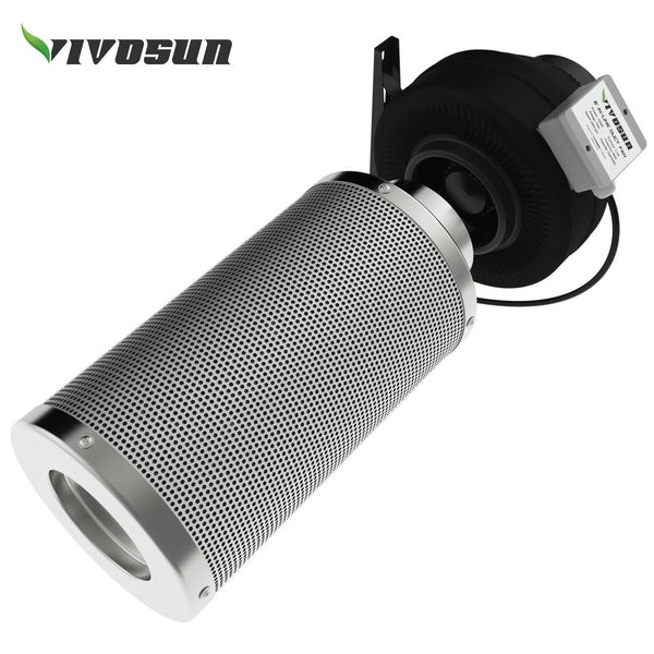 VIVOSUN Inline Duct Ventilation Fan with Variable Speed Controller @ The Growing Shop