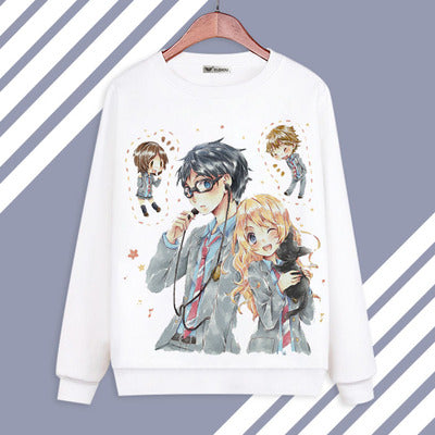 Your Lie In April Hoodies