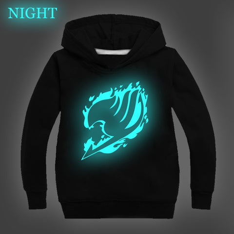 Fairy Tail Luminous Hoodies