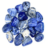 Bulk Tumbled Stone - Large - Blue Sodalite from Brazil