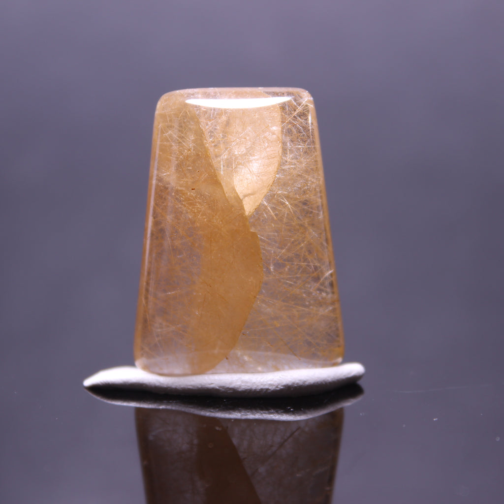 10.1g 3x2.2x0.9cm Rutilated Quartz from China