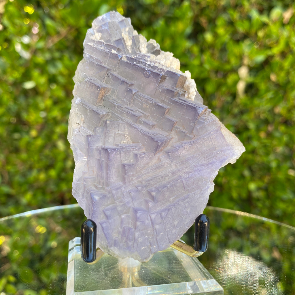 170g 10x7x2cm Amazing Matrix Purple Fluorite from Balochistan, Pakistan
