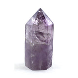 Purple Amethyst Crystal Wand Single Point Single Terminated