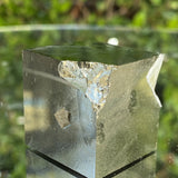 136g 4x4x4cm Cubic Matrix Gold Spainish Pyrite from Spain - Locco Decor