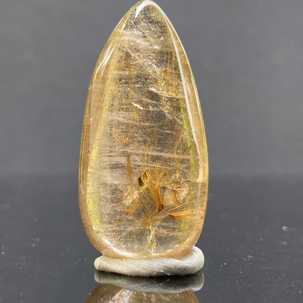 14.6g 4.2x2.1x1.2cm Clear Rutilated Quartz from China