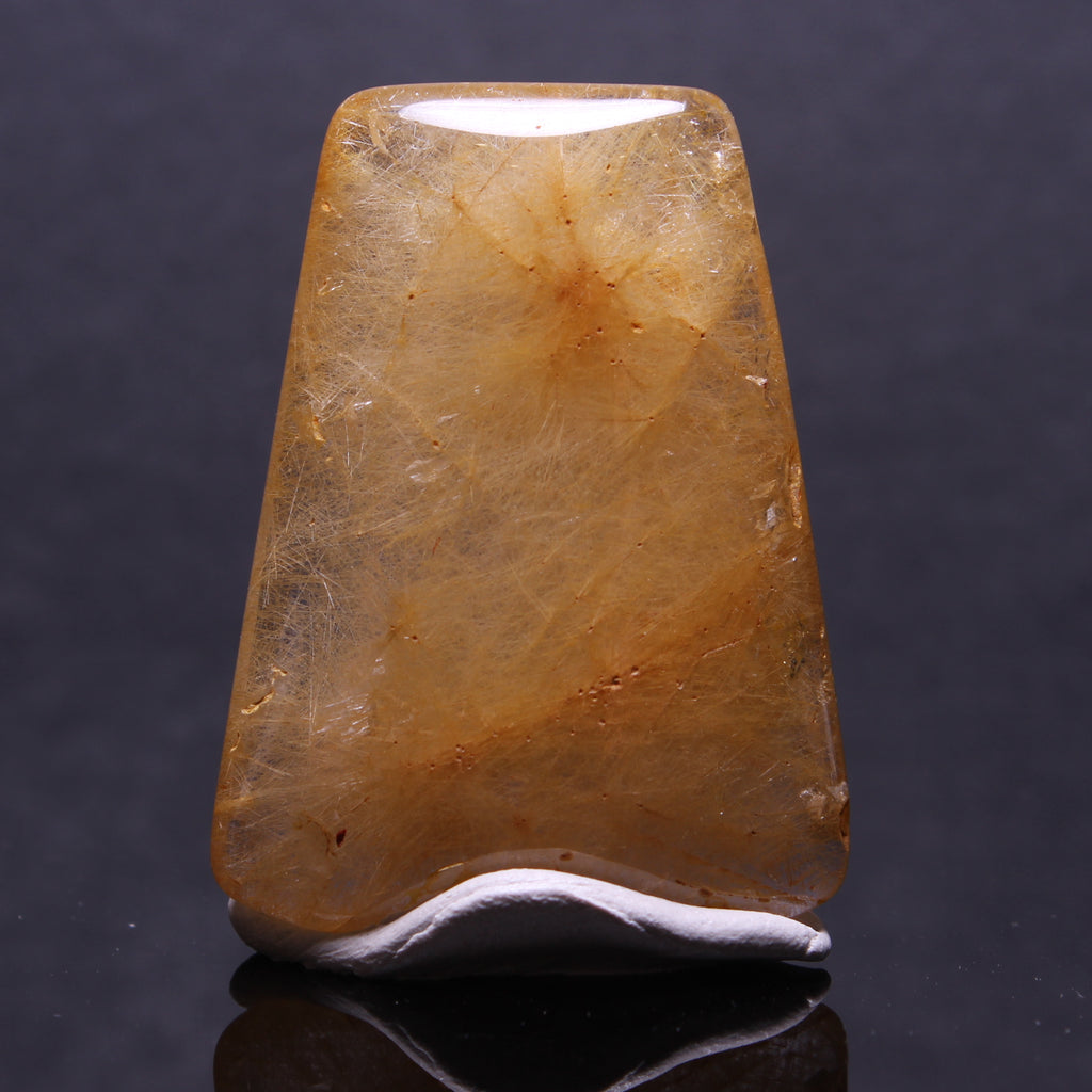 18.3g 4.2x3.1x0.9cm Rutilated Quartz from China
