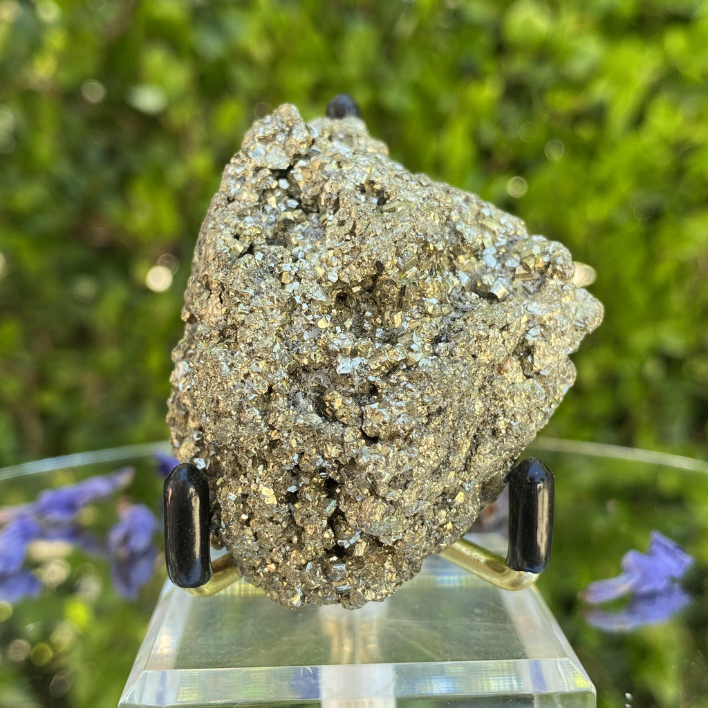 146g 7x5x4cm Fool's Gold Pyrite from Peru - Locco Decor