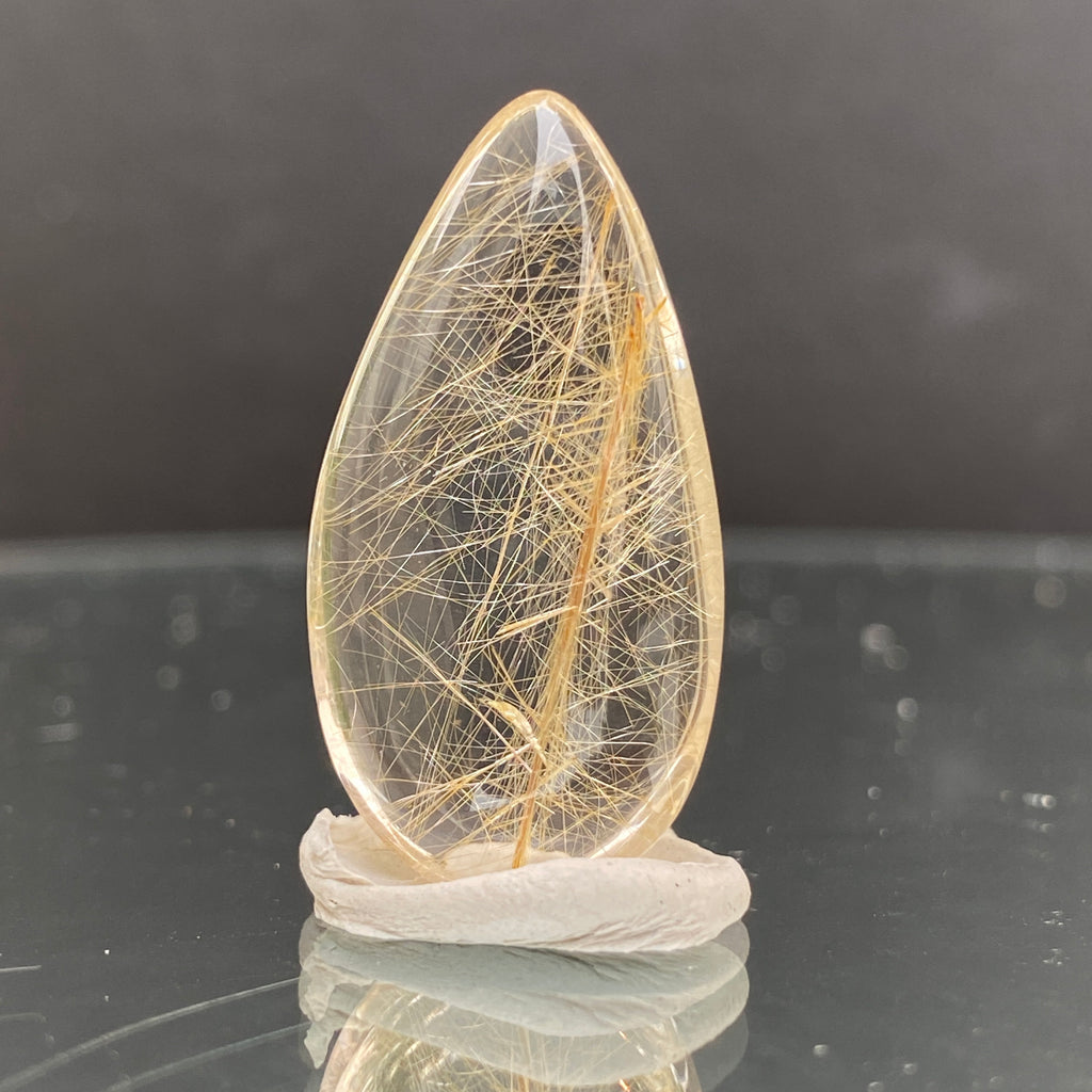 5.3g 3x1.6x0.8cm Clear Rutilated Quartz from China