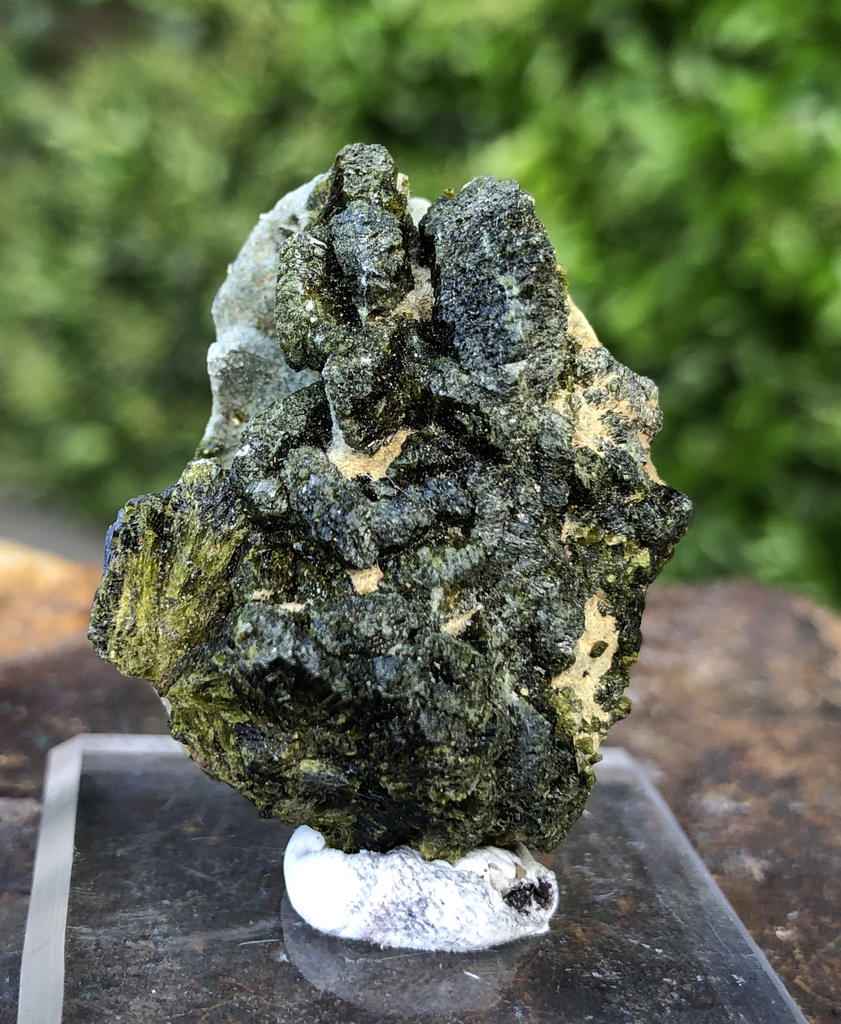 18g 4x4x2cm Green Epidote from Morocco