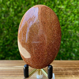 Gold Orange Goldstone Palm Stone