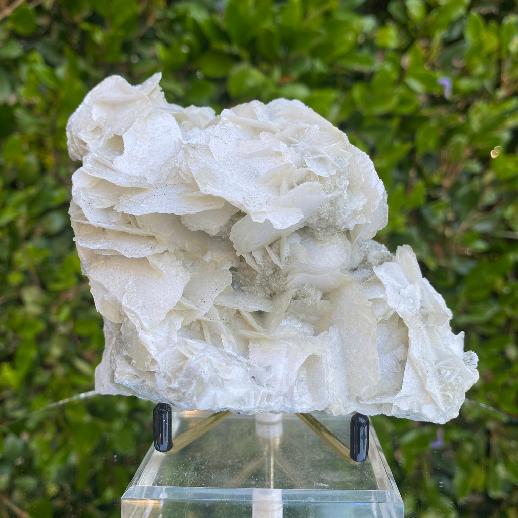 706g 13x7x7cm Chunky White Calcite from China