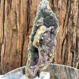 390g 17x6x5cm Green botryoidal Fluorite from China - Locco Decor