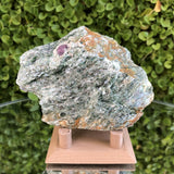 147g 3x6x8cm Green Fuchsite from Brazil