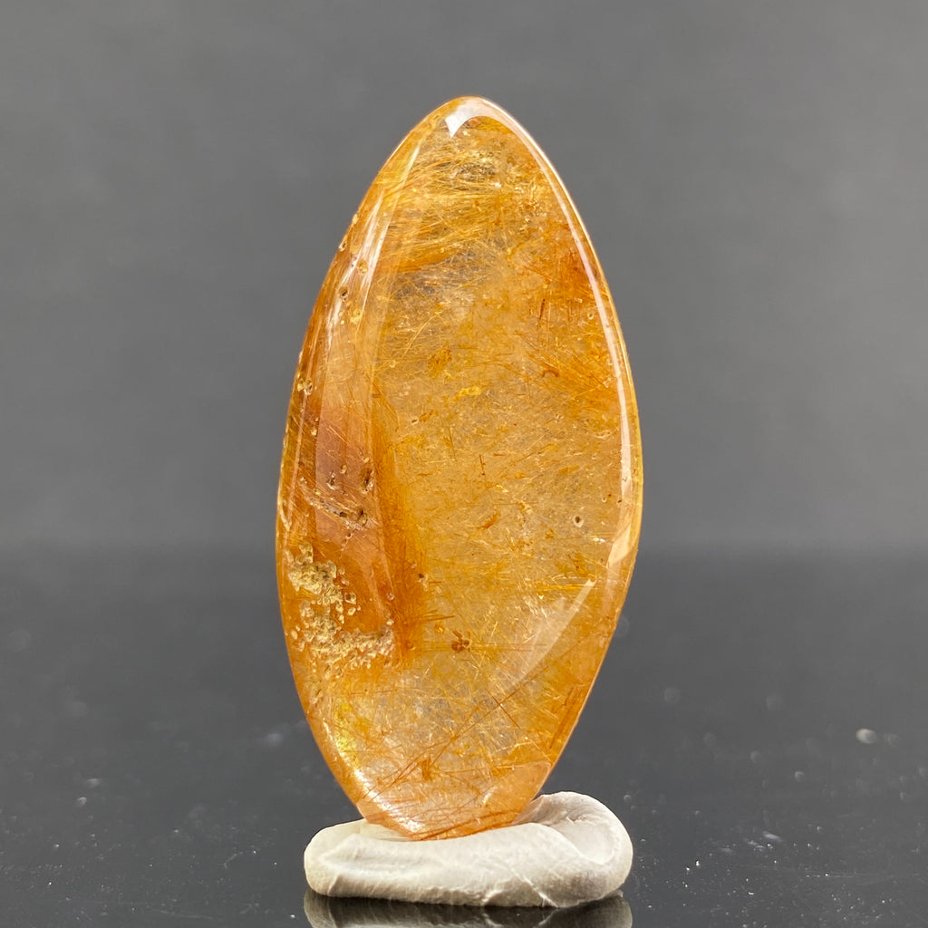 10.9g 4x1.9x1.1cm Clear Rutilated Quartz from China