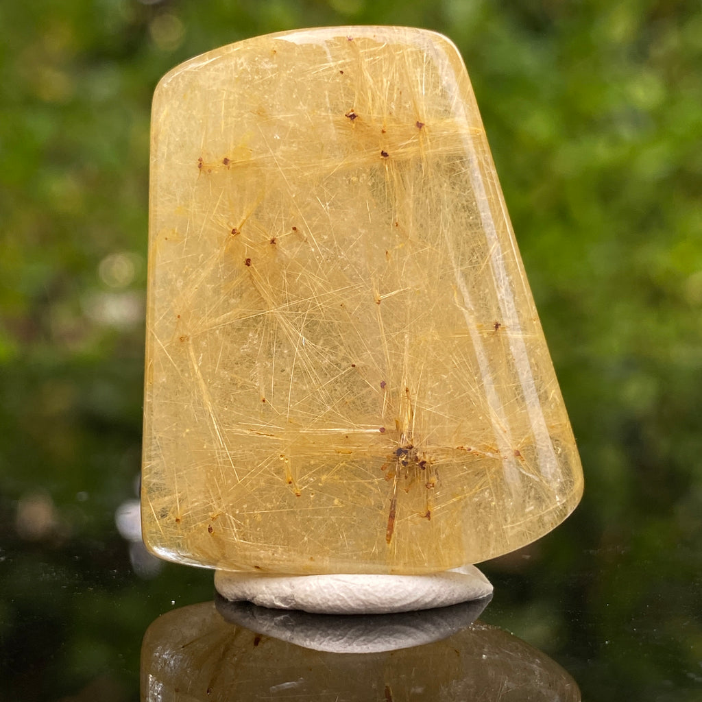 19.2g 3.7x3x1cm Clear Rutilated Quartz from China