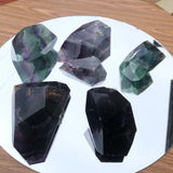 Colorful Rainbow Fluorite Natural Polished from China