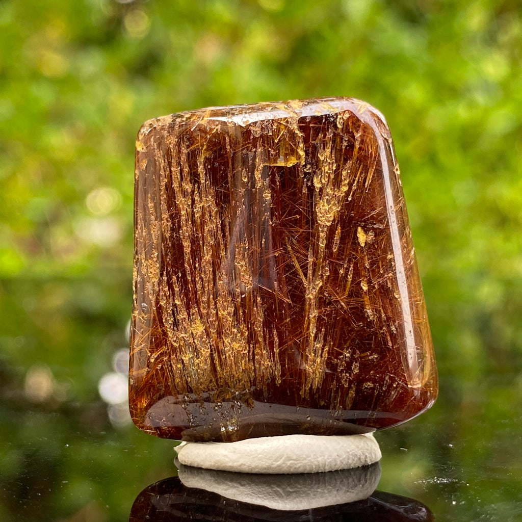 16.2g 3x2.8x1.2cm Red Rutilated Quartz from China