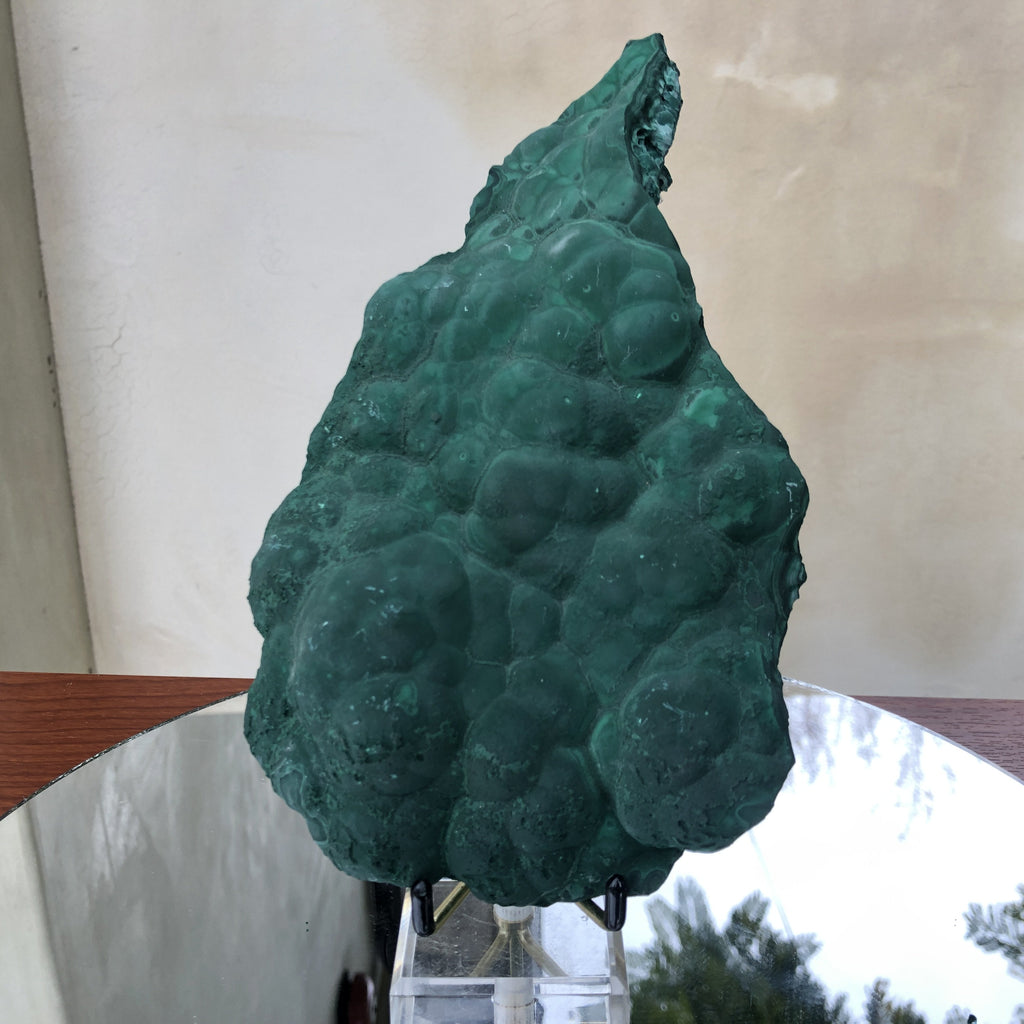 1.182kg 22x13x5cm Shiny Green Malachite from Sepon Mine, Laos