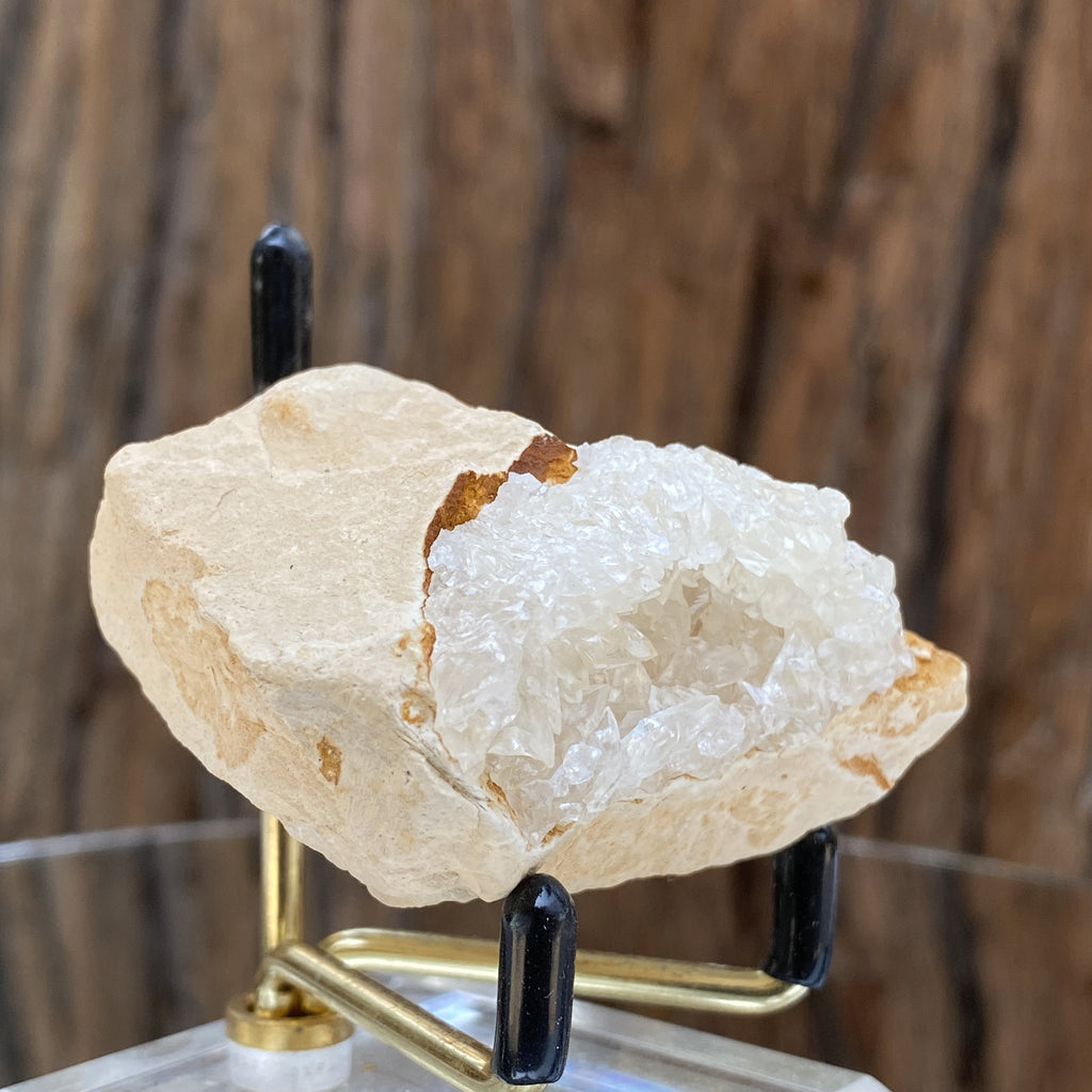 72g 5.5x5x4cm Clear Calcite Geode from Morocco - Locco Decor