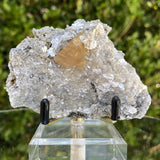 88g 9x6x4cm Orange Scheelite with Silver muscovite from China - Locco Decor