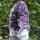 692g 8x8x11cm Purple Amethyst Geode from Uruguay