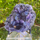 190g 11x9x7cm Purple Tanzanite Fluorite from China