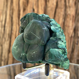 332g 7x6x6cm Green Shiny Malachite from Laos - Locco Decor