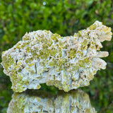 306g 10x7x4cm Green pyromorphite from Daoping Mine,China