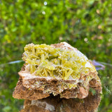240g 7x6x4cm Green pyromorphite from Daoping Mine,China