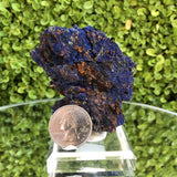 131g 7x7x3cm Blue Azurite from Morocco - Locco Decor