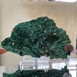 684g 21x15x5cm Green Malachite from Sepon Mine, Laos