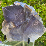 922g 14x13x7cm Big Cluster Cubic Matrix Purple Fluorite from Balochistan, Pakistan