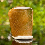 13g 3x2.4x1.1cm Clear Rutilated Quartz from China