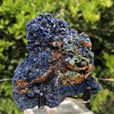 138g 8.5x8.3x3.9cm Blue Azurite from Sepon Mine, Laos - Locco Decor