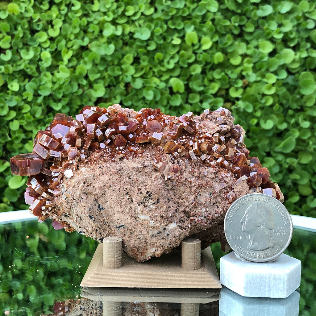 361g 10x7x3cm Red Vanadinite from Morocco