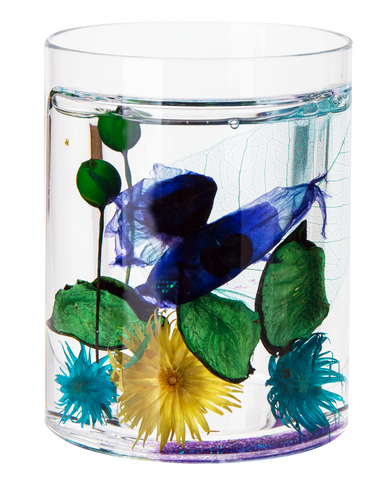 Acrylic Liquid Motion Home Decor Flower Cup
