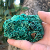 252.7g 8x7x4cm Natural Malachite from Laos