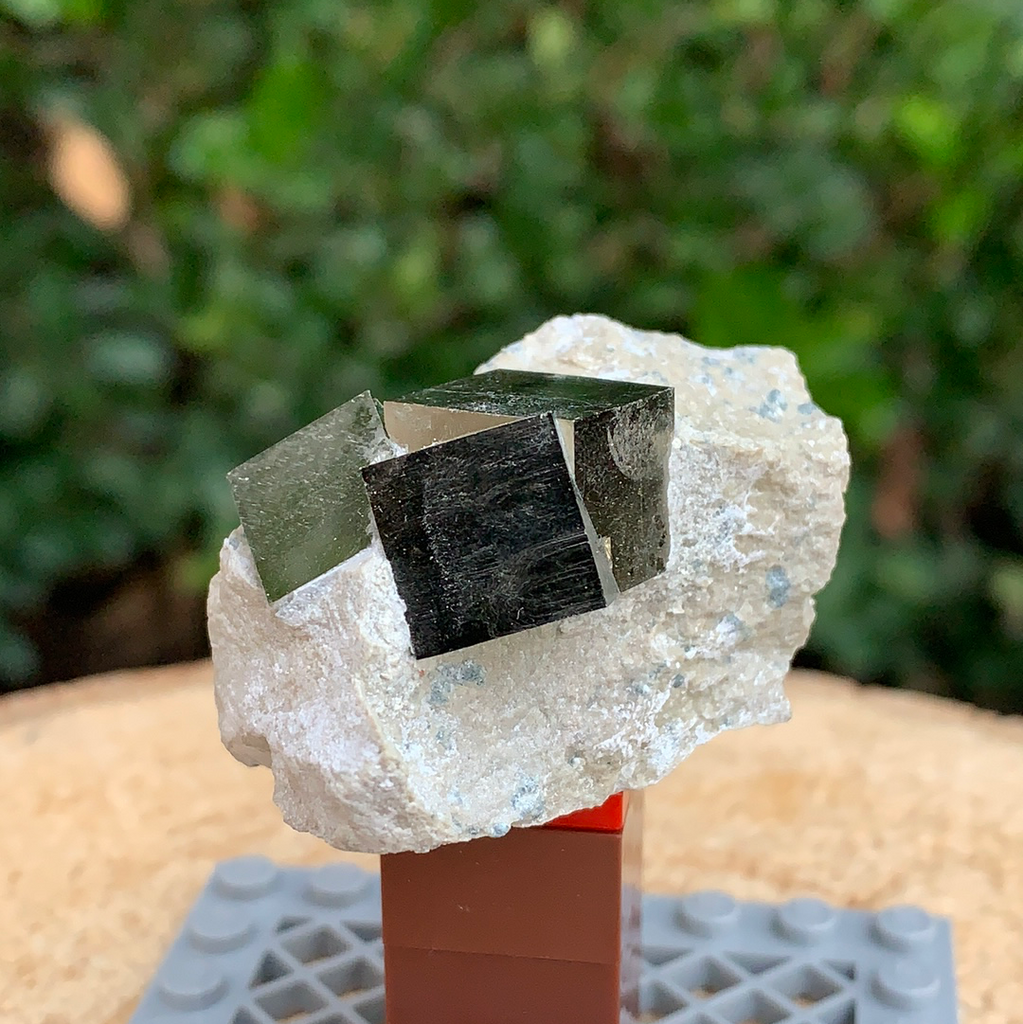 53.3g 5x3x3.5cm Cubic Navajun Spanish Pyrite  from Spain