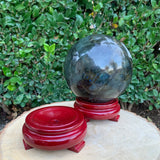 Wooden Circular Sphere Ball Base stand Made in China