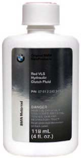 BMW Motorrad Red VLS Hydraulic Clutch Fluid - 07 51 2 240 347 - BMWSuperShop.com