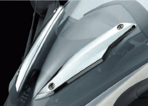 BMW K1600 Chrome Windshield Trim - 46 63 7 727 403/404 - BMWSuperShop.com