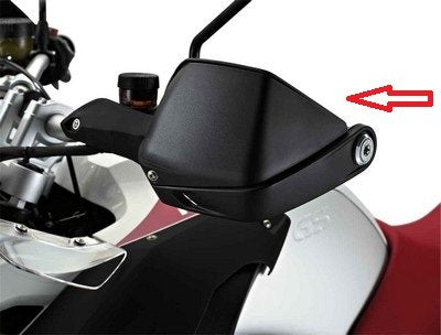 BMW R1200GS LARGE UPPER SECTION OF HAND PROTECTORS, Left - 71 60 7 705 221 - BMWSuperShop.com