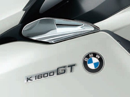BMW K1600GT Chrome Wind Deflectors - 46 63 7 727 535 / 46 63 7 727 536 - BMWSuperShop.com