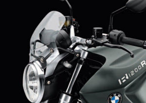 Bmw R1200R Clear Sport Windshield - 46 63 7 697 209 / 77 33 7 714 419 - BMWSuperShop.com